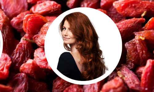 Goji berries for hair